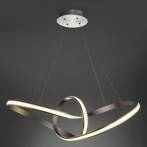 Подвесной светодиодный светильник 90174/1 сатин-никель
