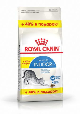 ПРОМО! Royal Canin Indoor 27 сухой корм для кошек, живущих в помещении 400+160 г