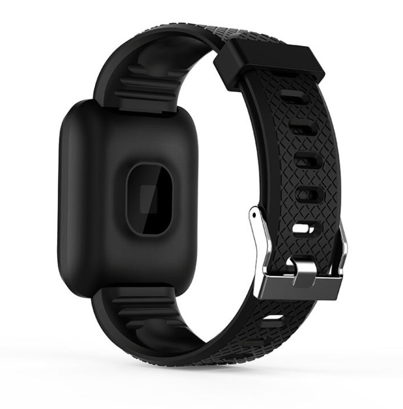 Часы здоровья с измерением давления, пульса и кислорода Health Band №116 (чёрный)