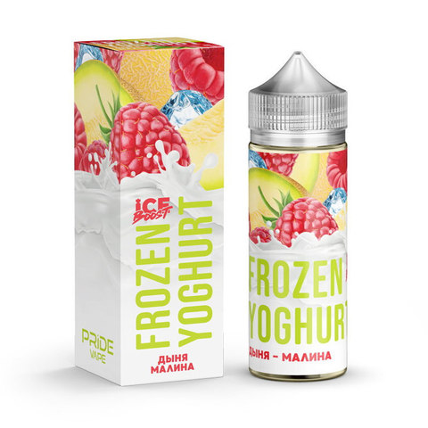 Жидкость Frozen Yoghurt Ice Boost 120 мл Дыня Малина