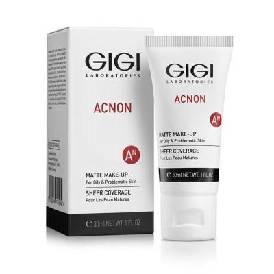 GIGI Acnon: Крем-тон матирующий для проблемной и жирной кожи (Matte Makeup), 30мл