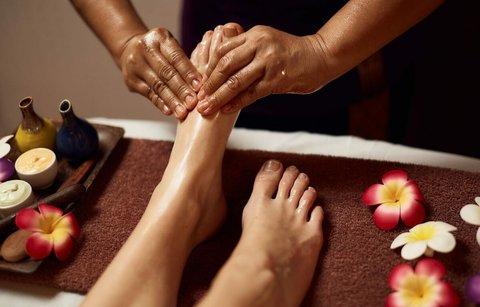 Тайский массаж ног и стоп