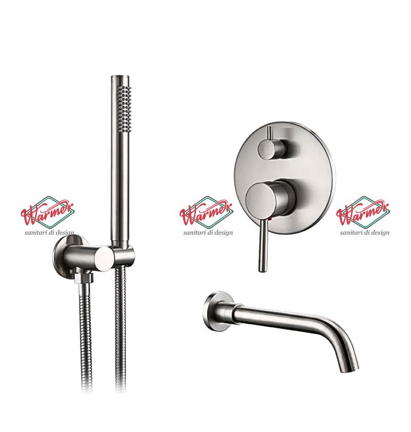 Brushed Chrome Line Комплект для ванны и душа Warmer Brushed Chrome Line 260135 Скриншот-13-12-2020-165941.jpg
