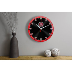 Настенные часы с рисками Fiat 06