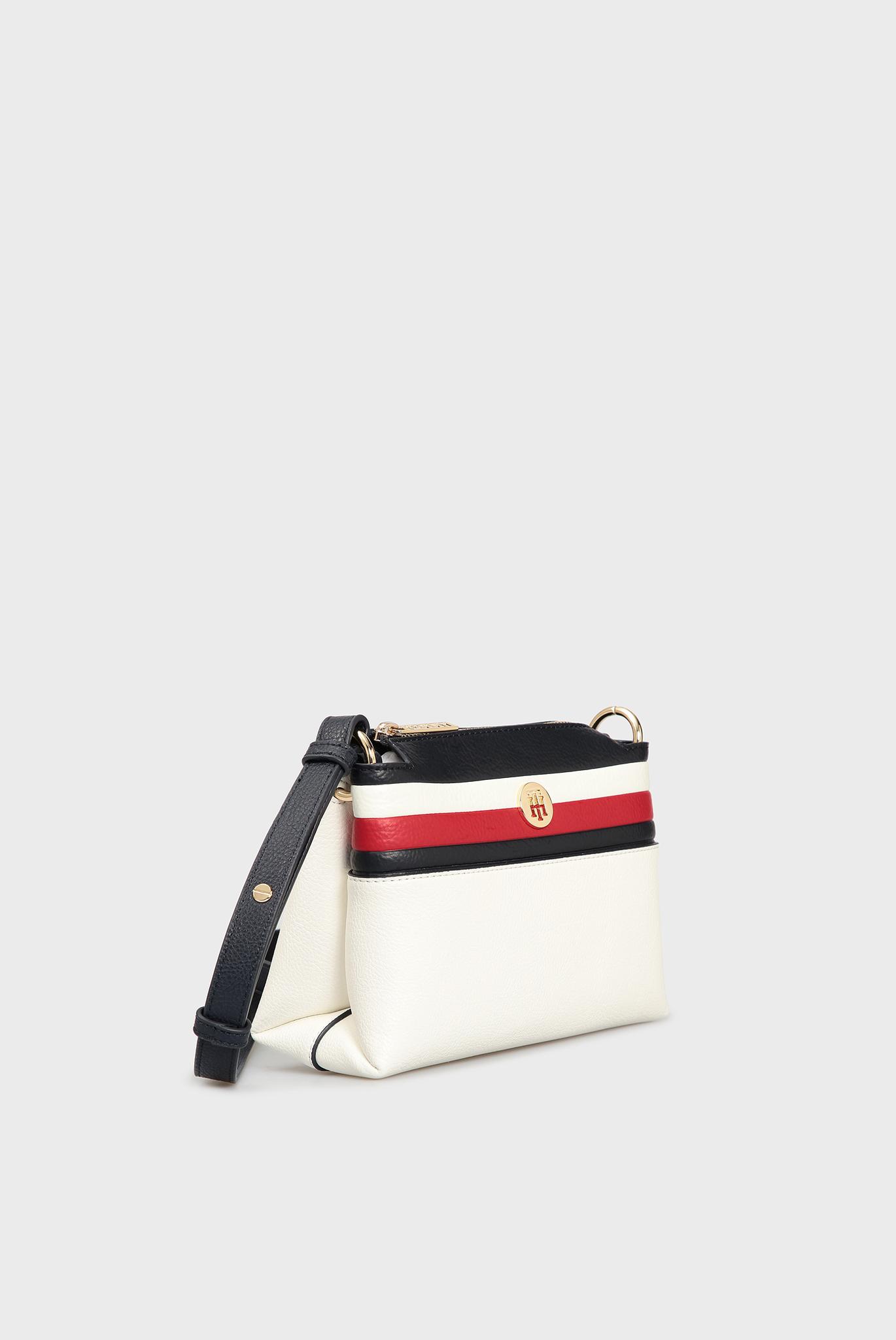 Женская белая сумка через плечо TH CORE CROSSOVER Tommy Hilfiger