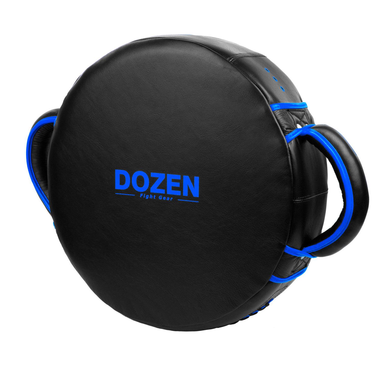 Макивара круглая Dozen Monochrome черно-синяя обратный вид