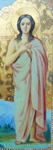 Петр Афонский и Мария Египетская