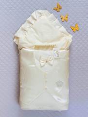 Набор на выписку из роддома Джентельмен (кремовый)