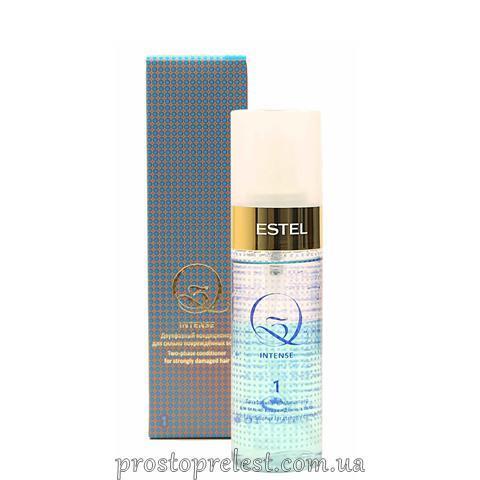 Estel Q3 Intense Spray - Двухфазный кондиционер для сильно поврежденных волос