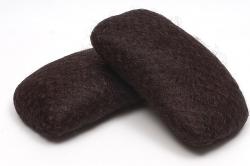 Валики для волос (Темно-коричневые) -2шт