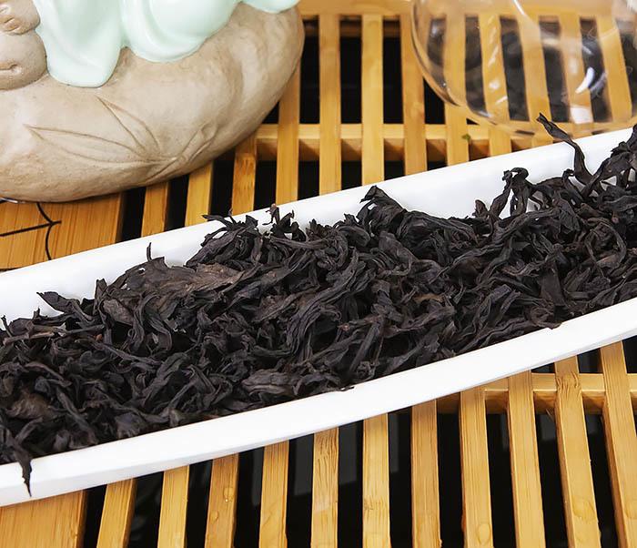 TEA-CH115 Китайский чай «Большой Красный Халат» (Да Хун Пао, сильная обжарка, 50 гр) фото 04