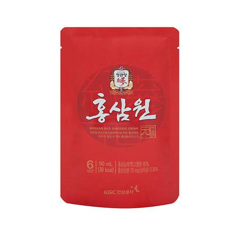 Напиток с экстрактом корейского красного женьшеня Korea Ginseng Corporation безалкогольный негазированный