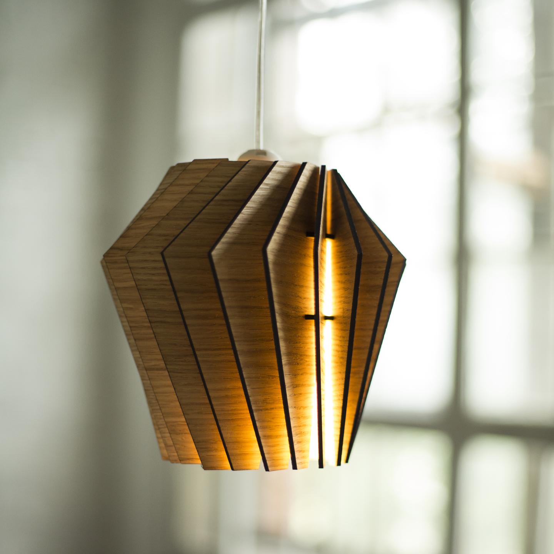 Подвесной светильник Woodled Турболампа, средний - вид 6
