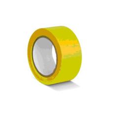 Клейкая лента для разметки желтая 50 мм x 33 м (KMSG05033)