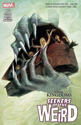 Disney Kingdoms: Seekers of the Weird #5
