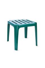 Пластиковый столик к шезлонгу зеленый