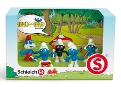 Смурфики Schleich (Шляйх). Набор Смурфов 1960-1969