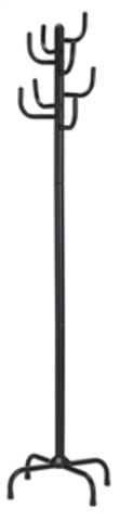 Вешалка для одежды напольная GC 0413-2 (черная)
