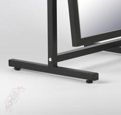 Т-60-48 Зеркало напольное обувное (черное)