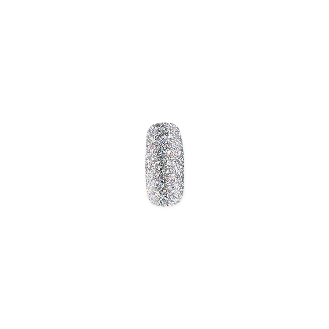 Гель-лак MIX 100 Silver Holographic Shimmer, 10 мл