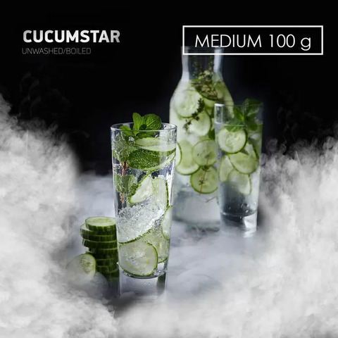Табак Dark Side MEDIUM CucumStar 100 г
