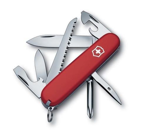 Нож Victorinox Hiker, 91 мм, 13 функций, красный123