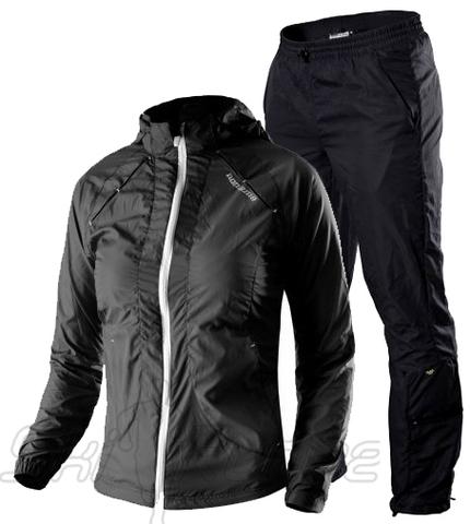 Женский спортивный костюм для бега Noname Luna 13 black