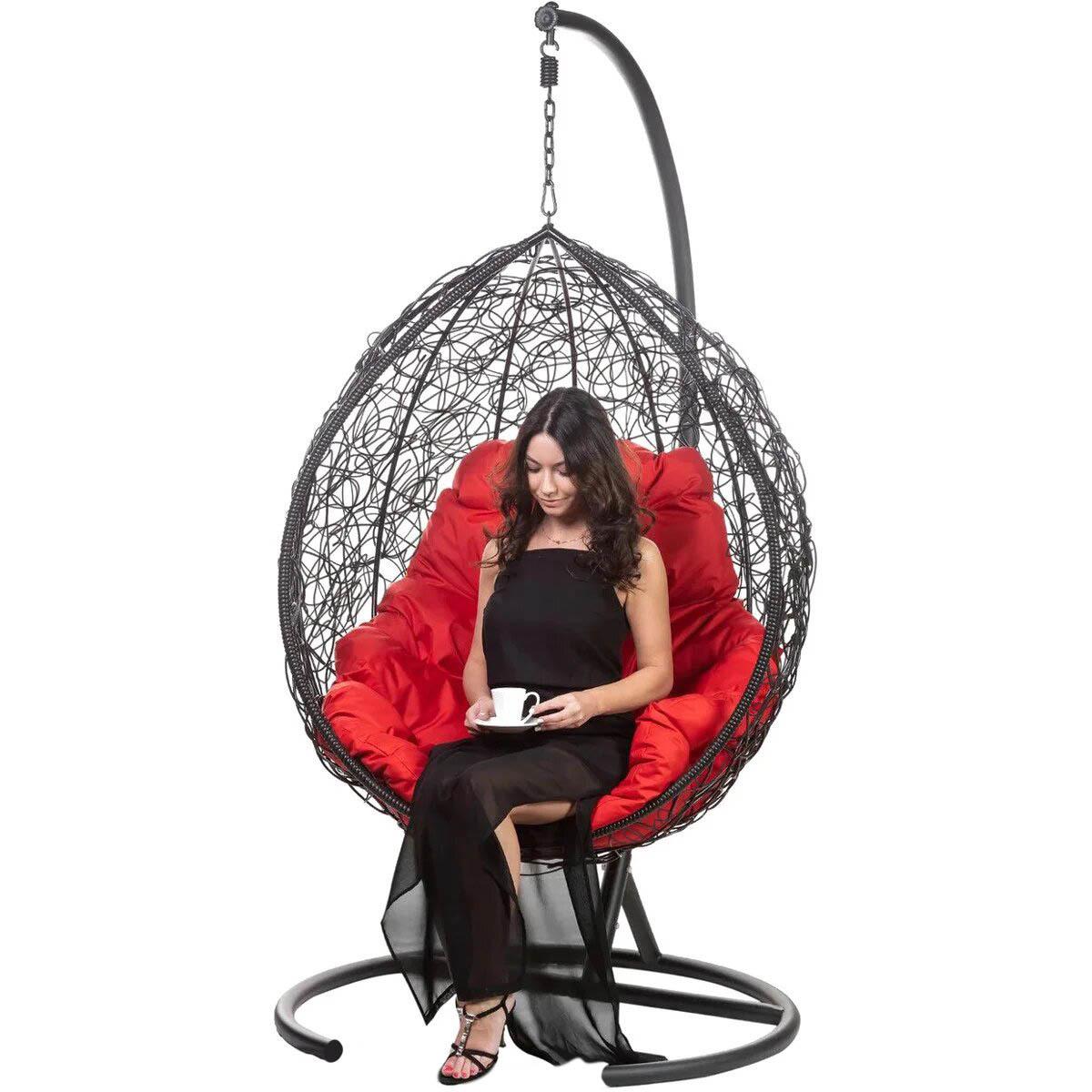 Подвесные кресла Подвесное кресло TROPICA BLACK TropicaBlackR-3.jpg
