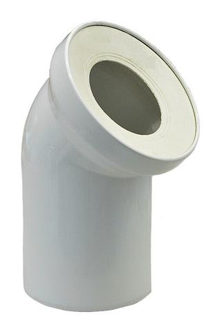 Rehau Raupiano Plus 110/45° отвод для присоединения выпуска унитаза (11216141001)
