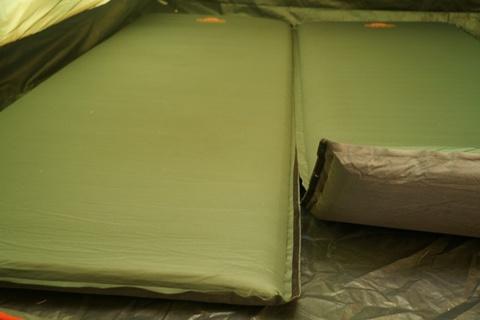 Картинка коврик Alexika DOUBLE COMFORT pine green, 198x76x7,5 cm x 2mats  - 4