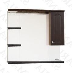 Зеркало-шкаф SanMaria Венге-90 венге правый
