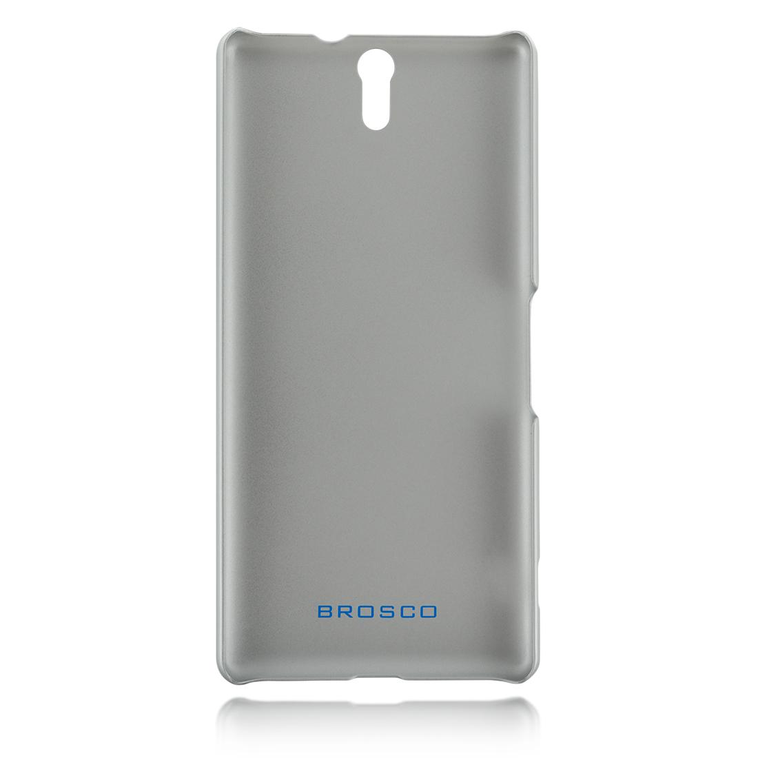 Пластиковая накладка серебристая для Xperia C5 Ultra в Sony Centre Воронеж