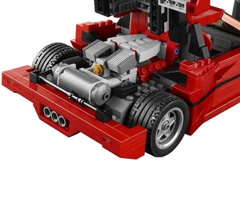 LEGO Creator: Ferrari F40 10248 — Ferrari F40 — Лего Креатор Создатель