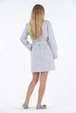 Короткий женский халат B&B