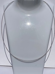 Снейк круглый урагано (серебряная цепочка).