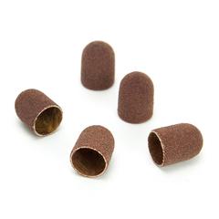 ruNail, Колпачок абразивный, 5*11 мм, 180 грит (5 шт.)
