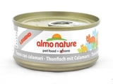 Almo Nature Legend Adult Cat Tuna&Squids Консервы для кошек с тунцом и кальмарами 1х70 г. (24182)