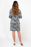 Платье для беременных и кормящих 09917 серый