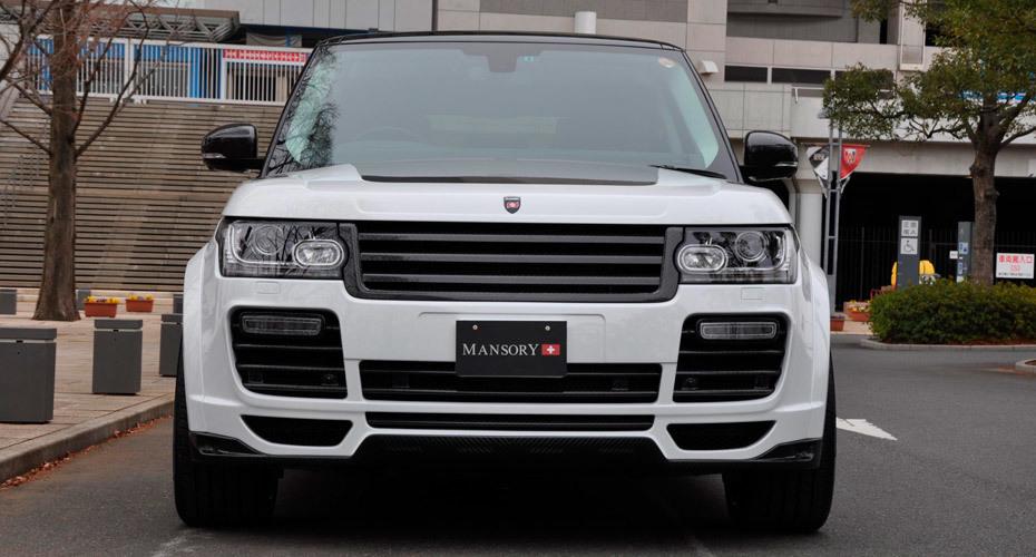 Обвес Mansory для Range Rover Vogue 4