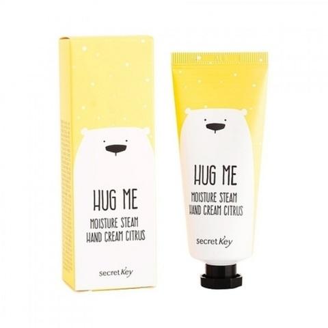 Secret Key Hug Me Moisture Steam Hand Cream Citrus крем для рук увлажняющий цитрус