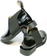 Низкие ботинки на низком ходу Ari Andano 721-2 Black Snake.