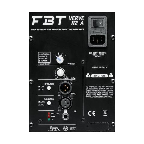 Акустические системы активные FBT Verve 112A