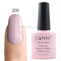 Canni, Гель-лак № 200, 7,3 мл
