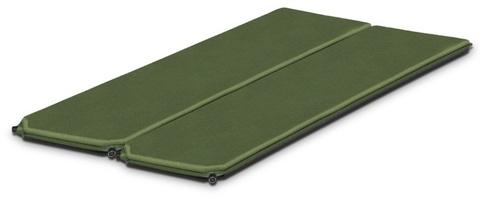 Картинка коврик Alexika DOUBLE COMFORT pine green, 198x76x7,5 cm x 2mats  - 1