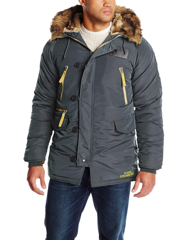 Куртка Аляска - N-3B Inclement Parka (стальной синий - s. blue)