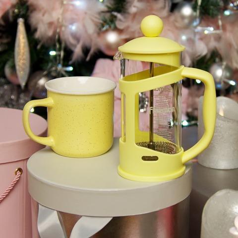 Подарочный набор: Кружка - Чайник заварочный,  купить