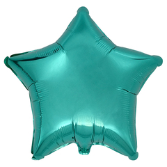 Воздушный шар Звезда 44см (Бирюзовая)