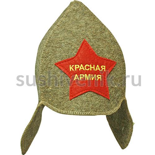 Будёновка Красная Армия серая