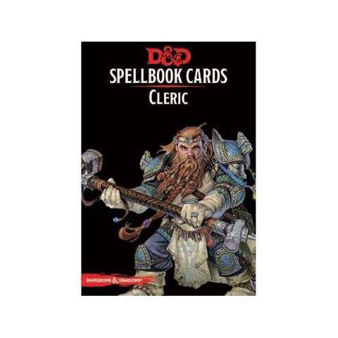 D&D Spellbook Cards:Cleric Deck (153 Cards)