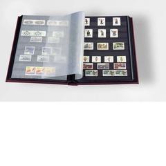 Альбом для марок на 64 страницы, без шубера (защитной кассеты). Промежуточные листы - пергамент